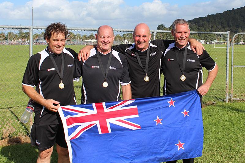 Trans-Tasman Gold – 50s 2017 New Zealand Masters Team