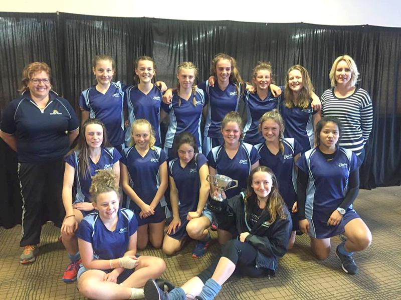 2017 Nelson U15 Girls Hockey Team