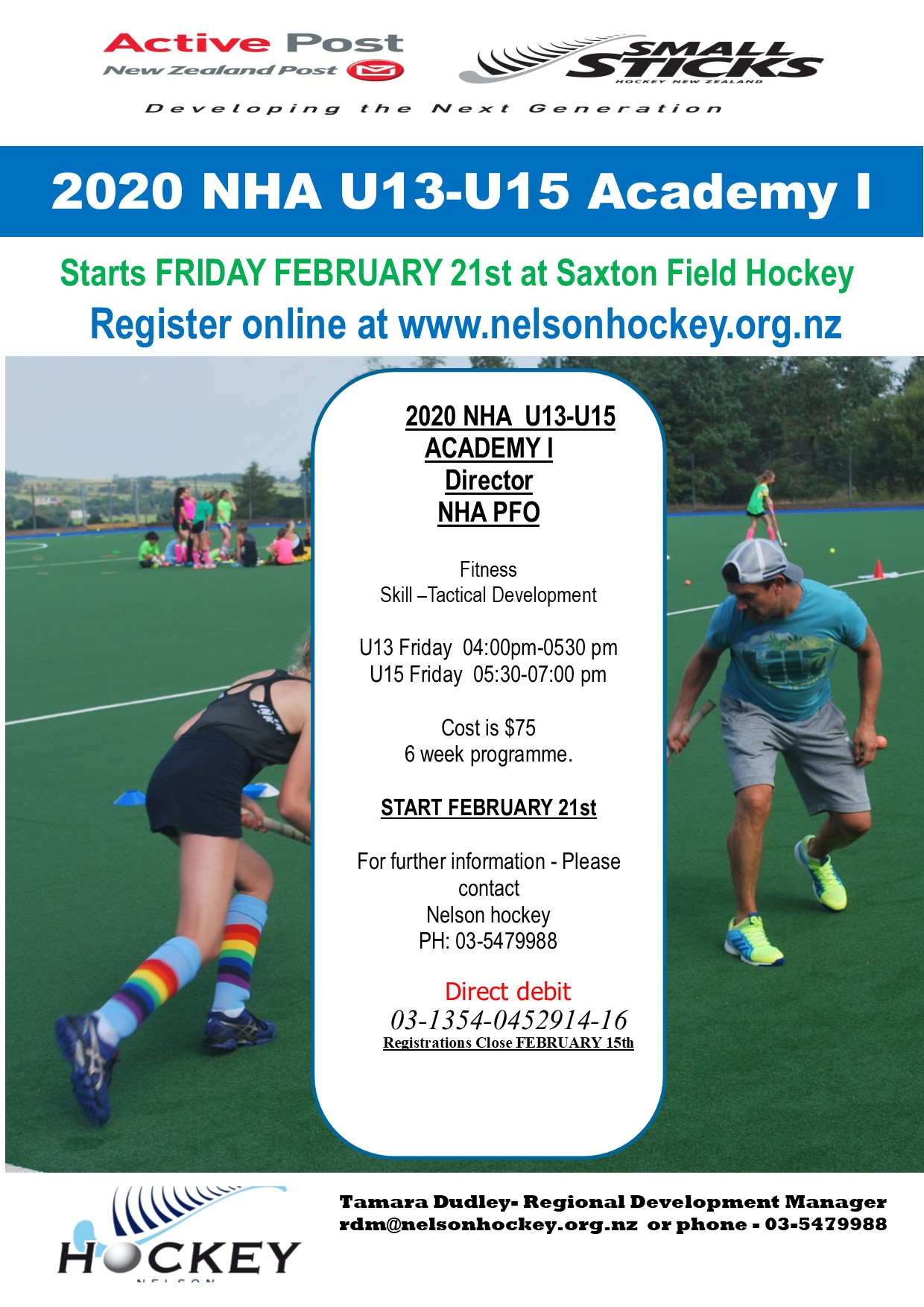 2020 U13-U15 ACADEMY Registrations Open!