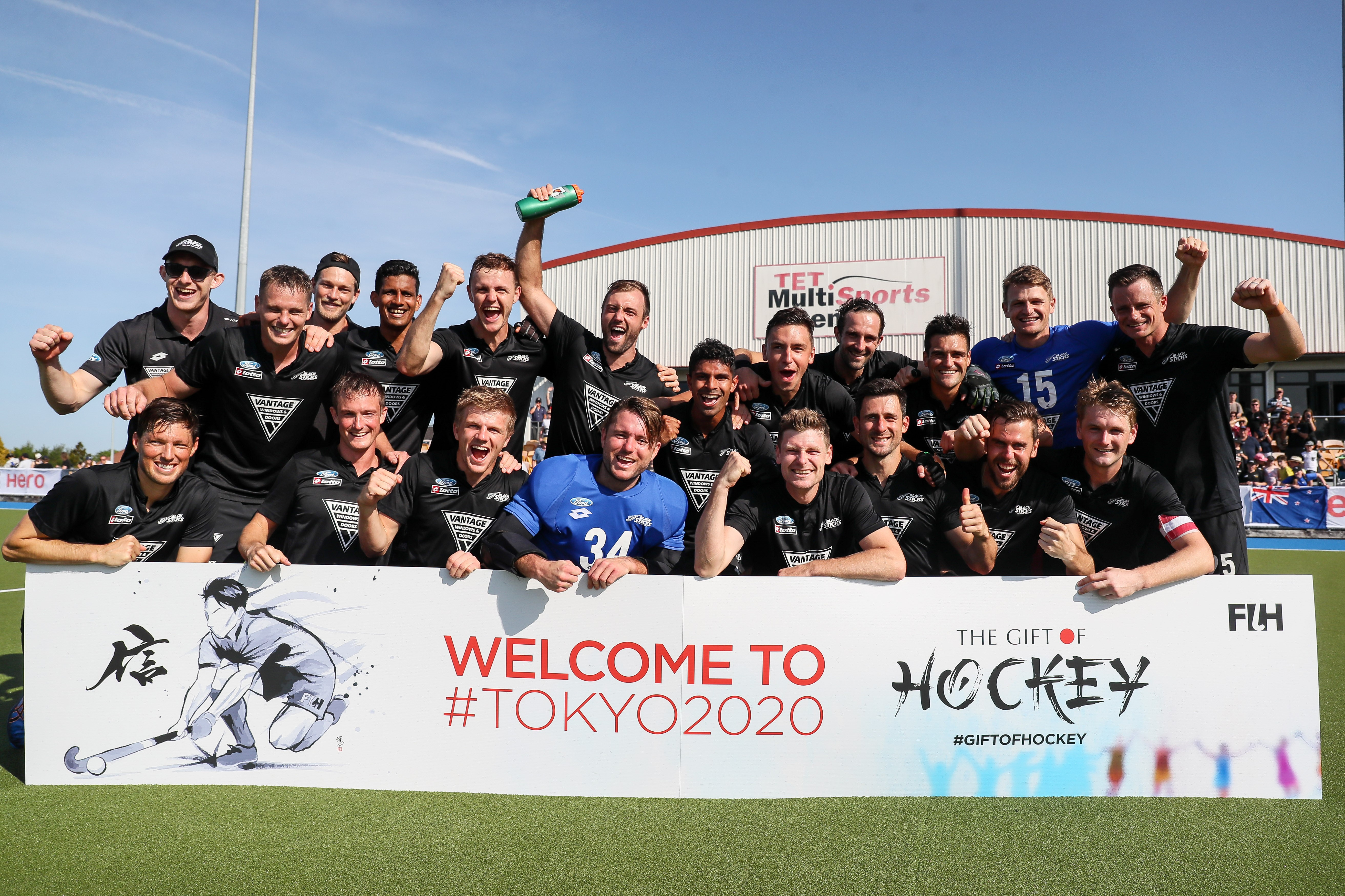 Vantage Black Sticks Men Book Their Place At The Tokyo Olympic Games